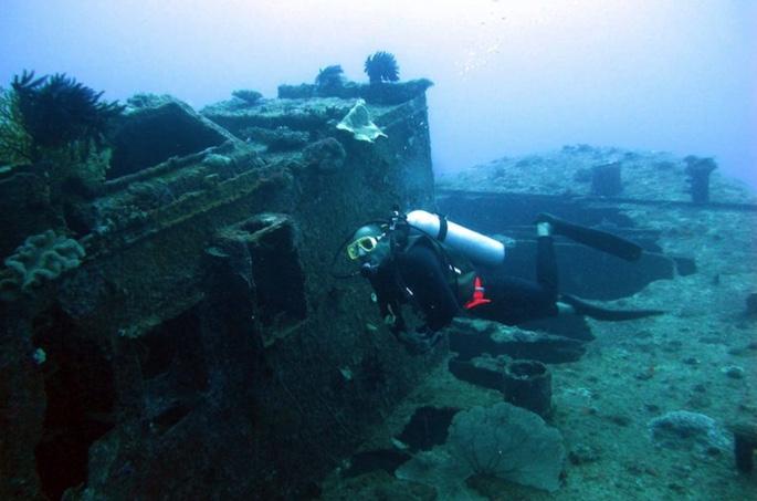 Blackbeard's Ship in North Carolina